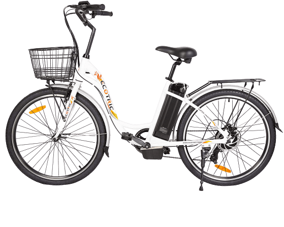 ECOTRIC Electric City Bike 26 City Powerful Bicycle EBike