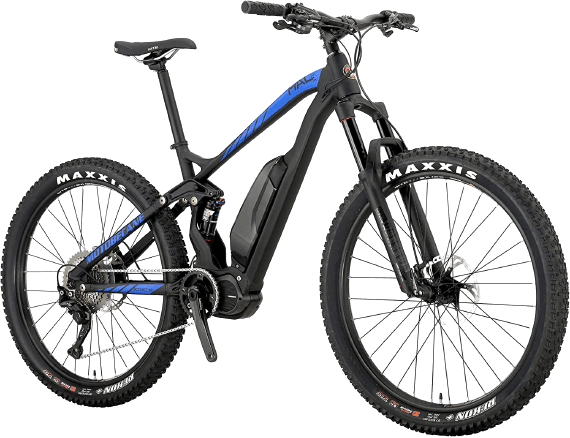 Motobecane Electric Dual Suspension HAL Eboost Mountain Bike