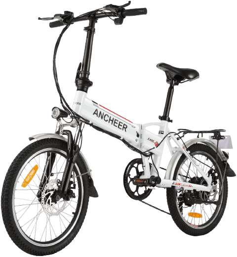 ANCHEER Folding Mini Electric Bike Commute Ebike