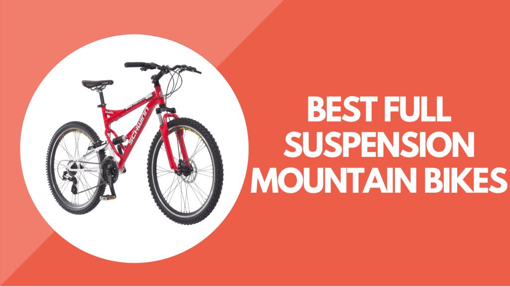 Best Entry Level Full Suspension Mountain Bikes