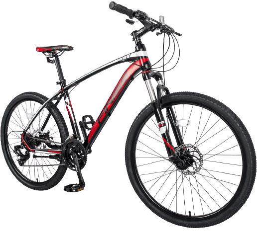 """Merax 26"""" Mountain Bicycle with Suspensions"""