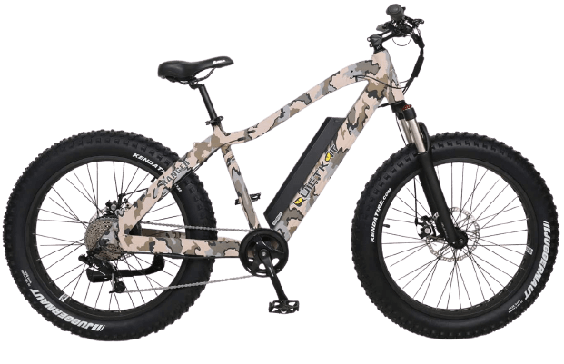 QuietKat Ranger Electric Bike for Backcountry