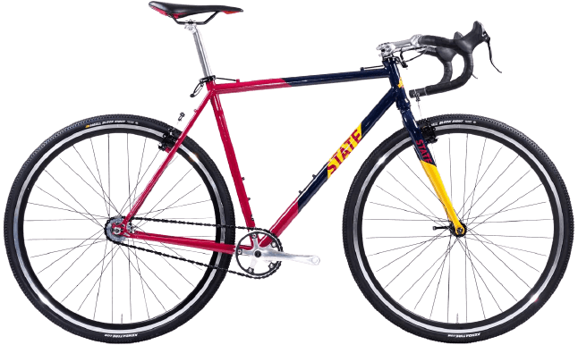 State Bicycle Co. Off-Road Single Speed Cyclocross Bike