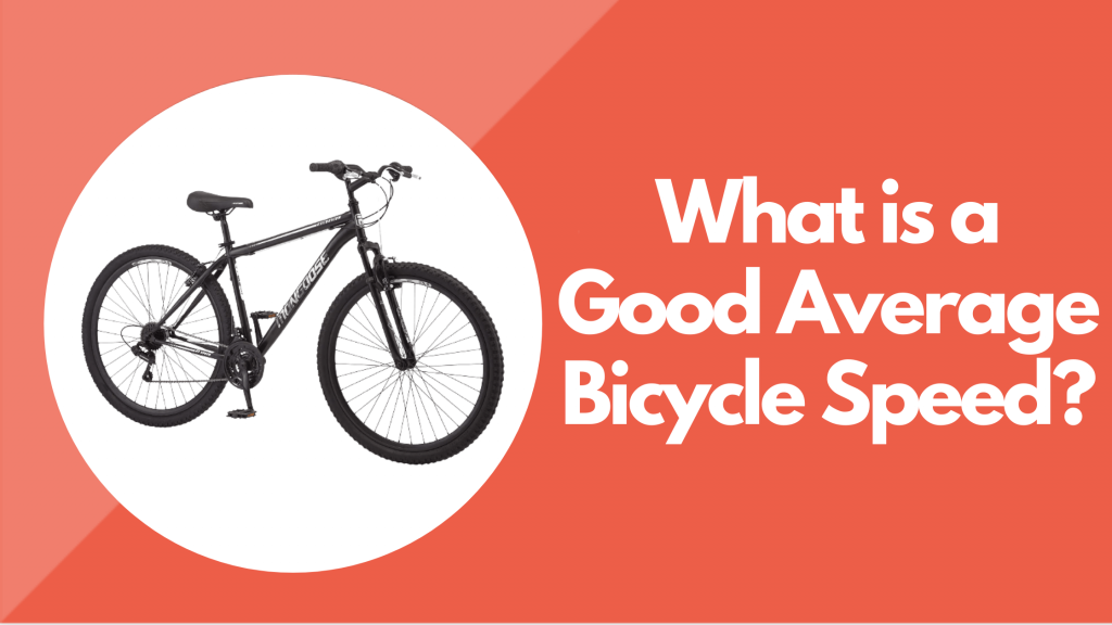 What is a Good Average Bicycle Speed