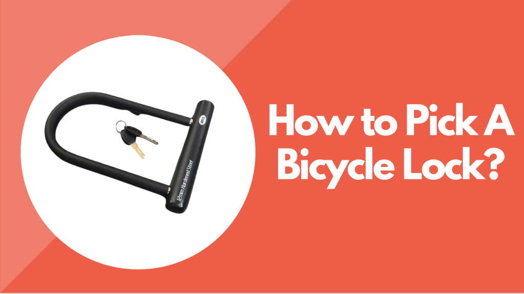 how to Pick A Bicycle Lock