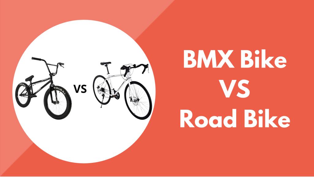 BMX vs Road Bikes