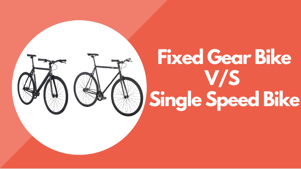 Fixed Gear Bike VS Single Speed Bike