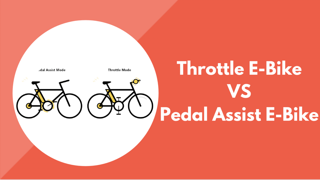 Throttle VS Pedal-Assist Electric Bike